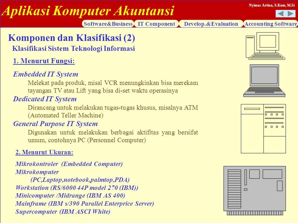 Komponen dan Klasifikasi (2)
