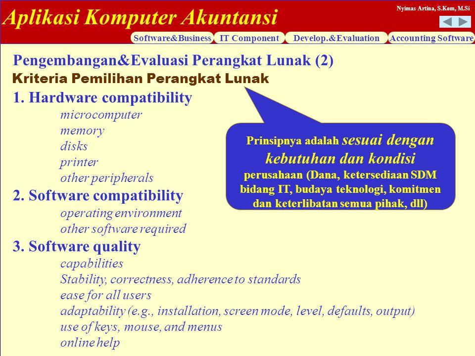 Pengembangan&Evaluasi Perangkat Lunak (2)