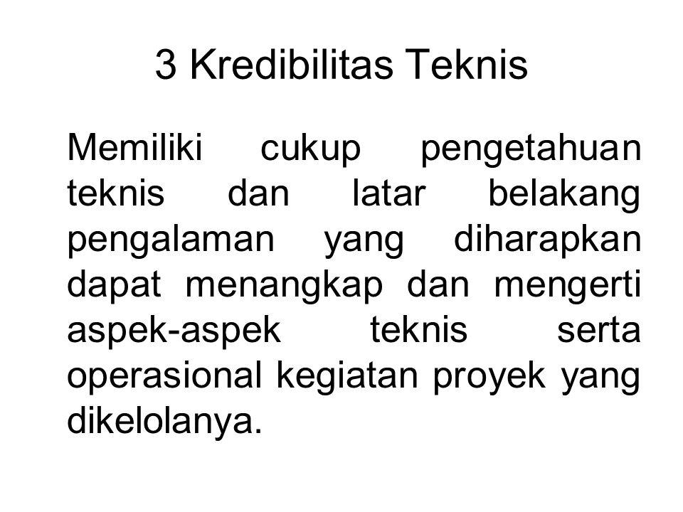 3 Kredibilitas Teknis