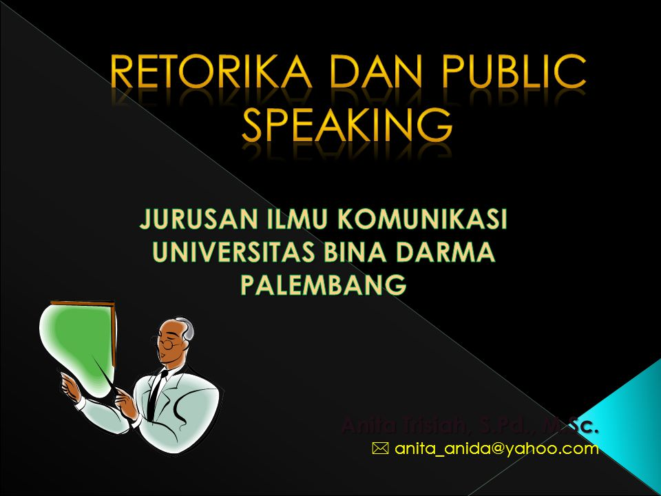 Retorika dan public speaking
