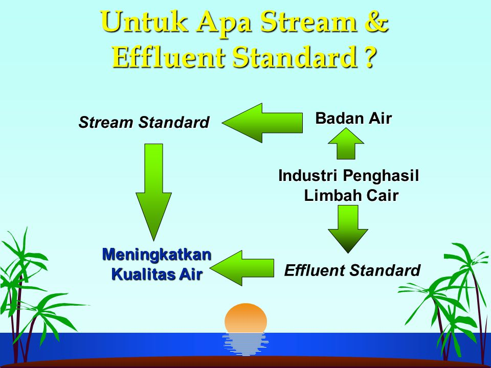 Untuk Apa Stream & Effluent Standard