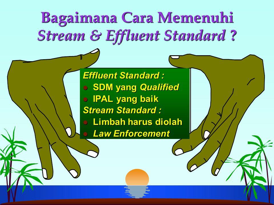 Bagaimana Cara Memenuhi Stream & Effluent Standard