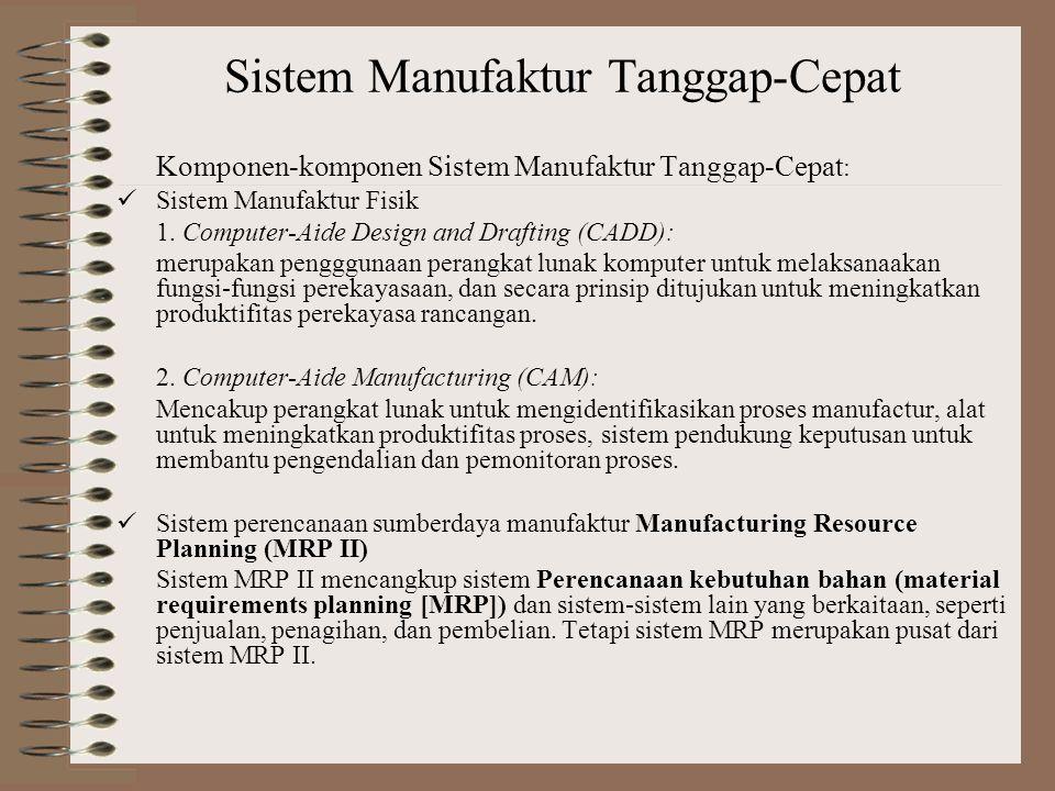 Sistem Manufaktur Tanggap-Cepat