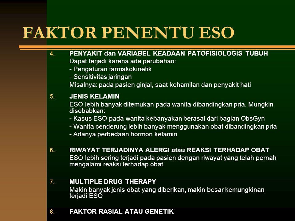 FAKTOR PENENTU ESO PENYAKIT dan VARIABEL KEADAAN PATOFISIOLOGIS TUBUH