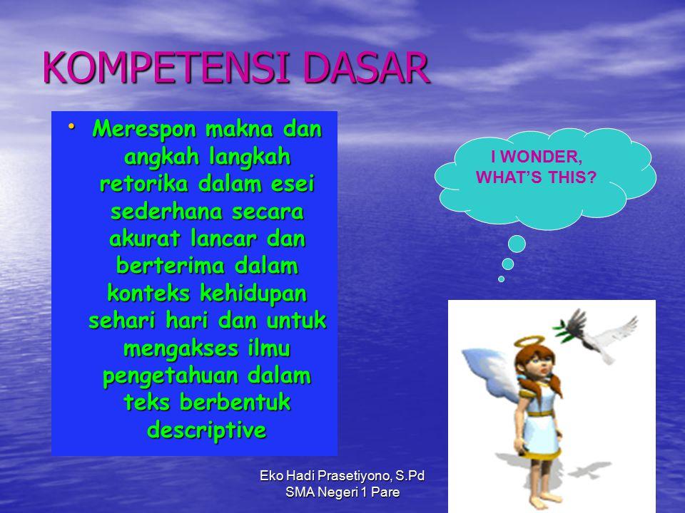 Eko Hadi Prasetiyono, S.Pd SMA Negeri 1 Pare