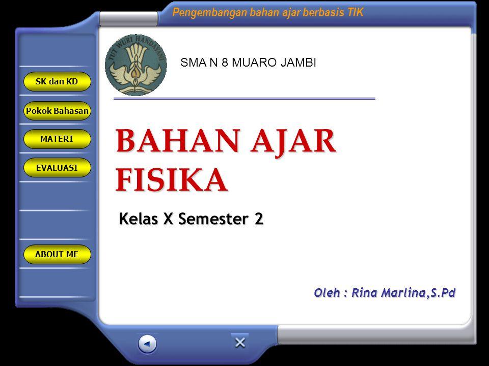 BAHAN AJAR FISIKA Kelas X Semester 2