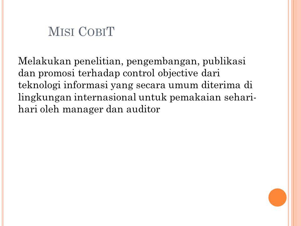 Misi CobiT