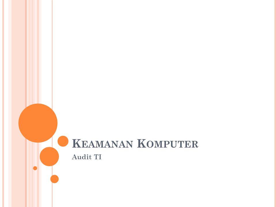 Keamanan Komputer Audit TI
