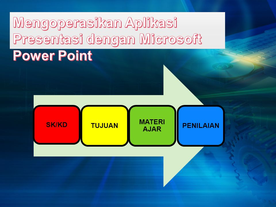 Mengoperasikan Aplikasi Presentasi dengan Microsoft Power Point