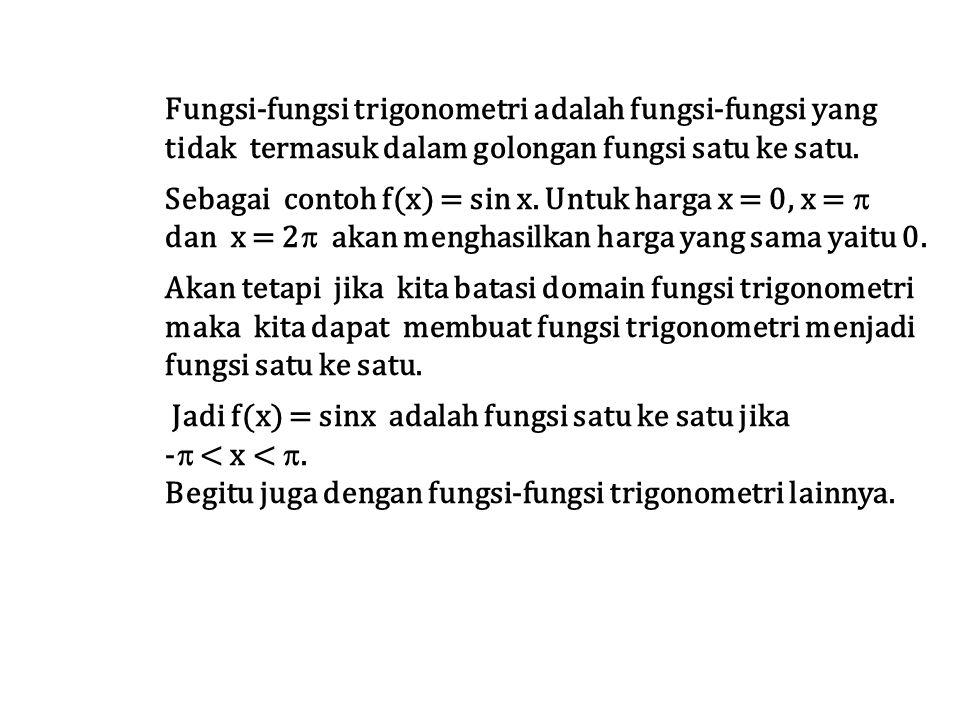 Fungsi-fungsi trigonometri adalah fungsi-fungsi yang