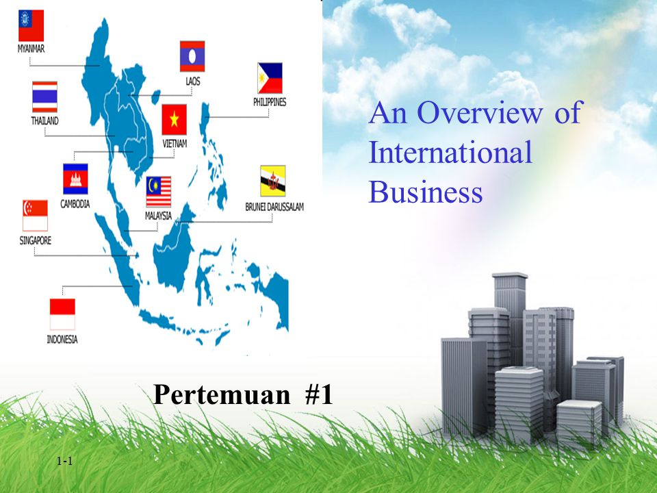An Overview of International Business