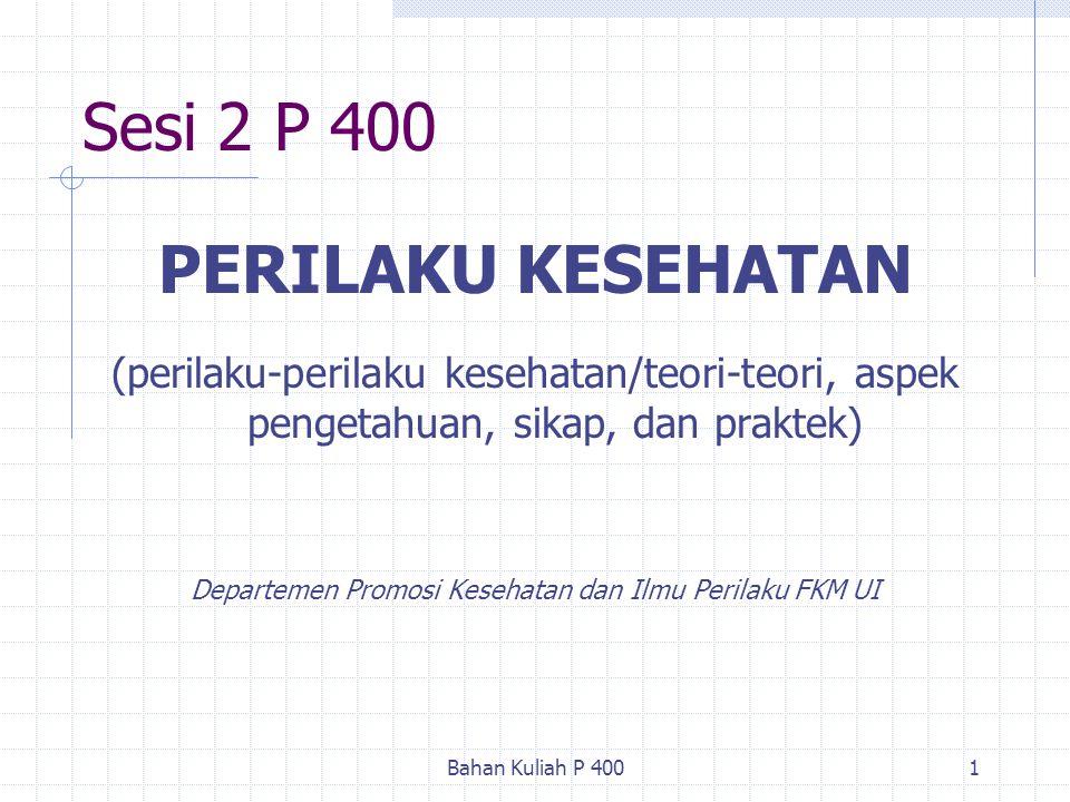 Departemen Promosi Kesehatan dan Ilmu Perilaku FKM UI