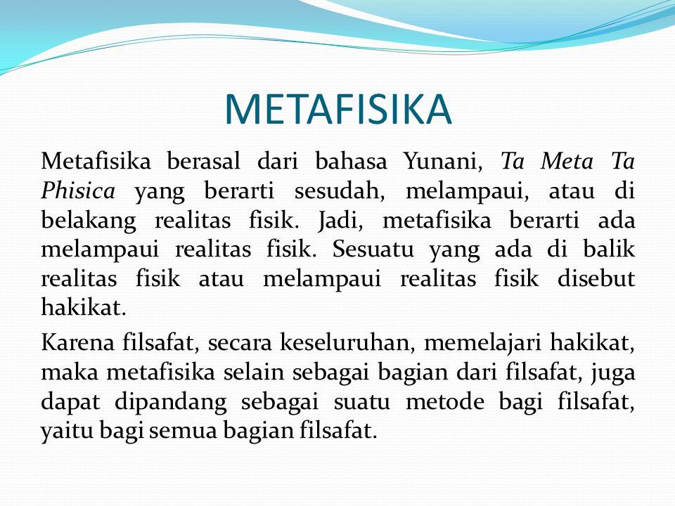 METAFISIKA