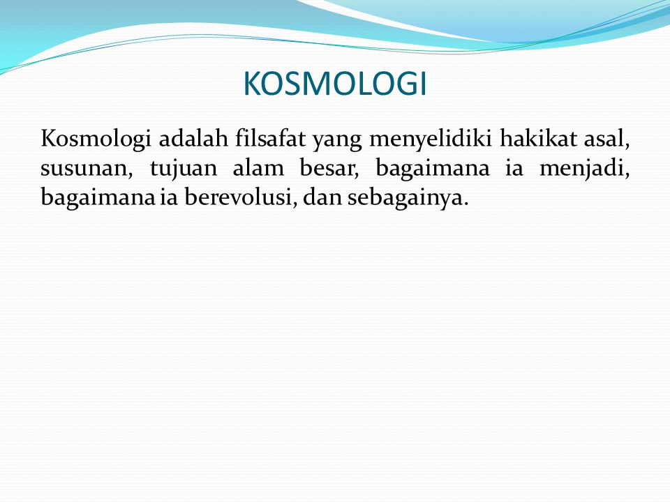 KOSMOLOGI