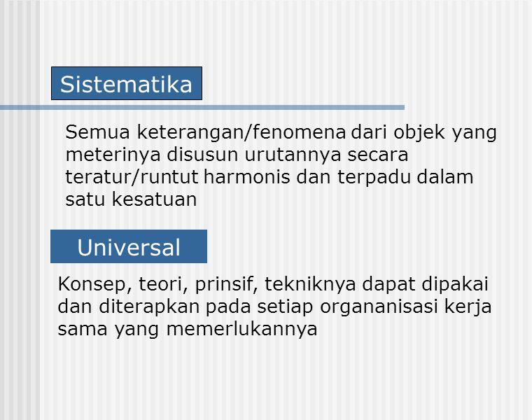 Sistematika Universal