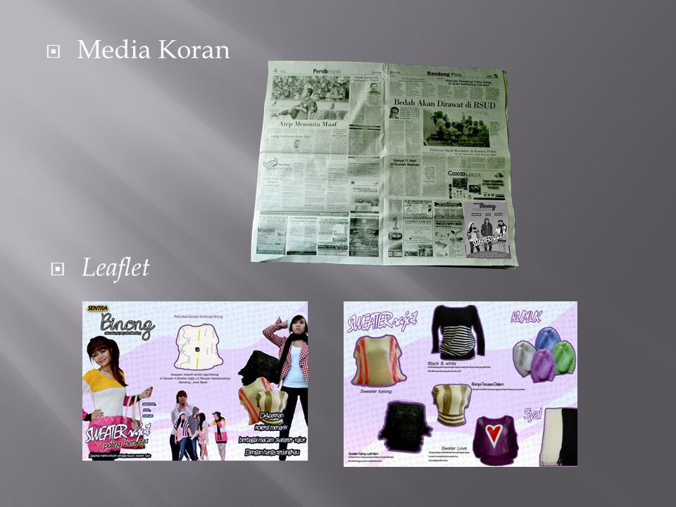 Media Koran Leaflet