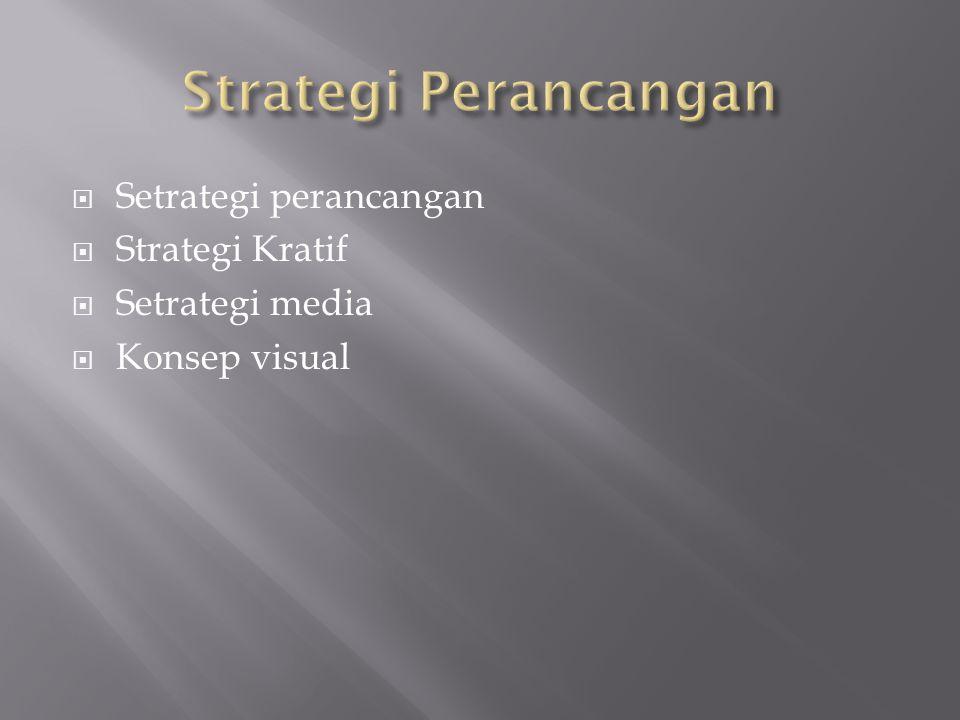 Strategi Perancangan Setrategi perancangan Strategi Kratif
