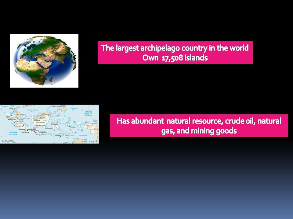 The largest archipelago country in the world