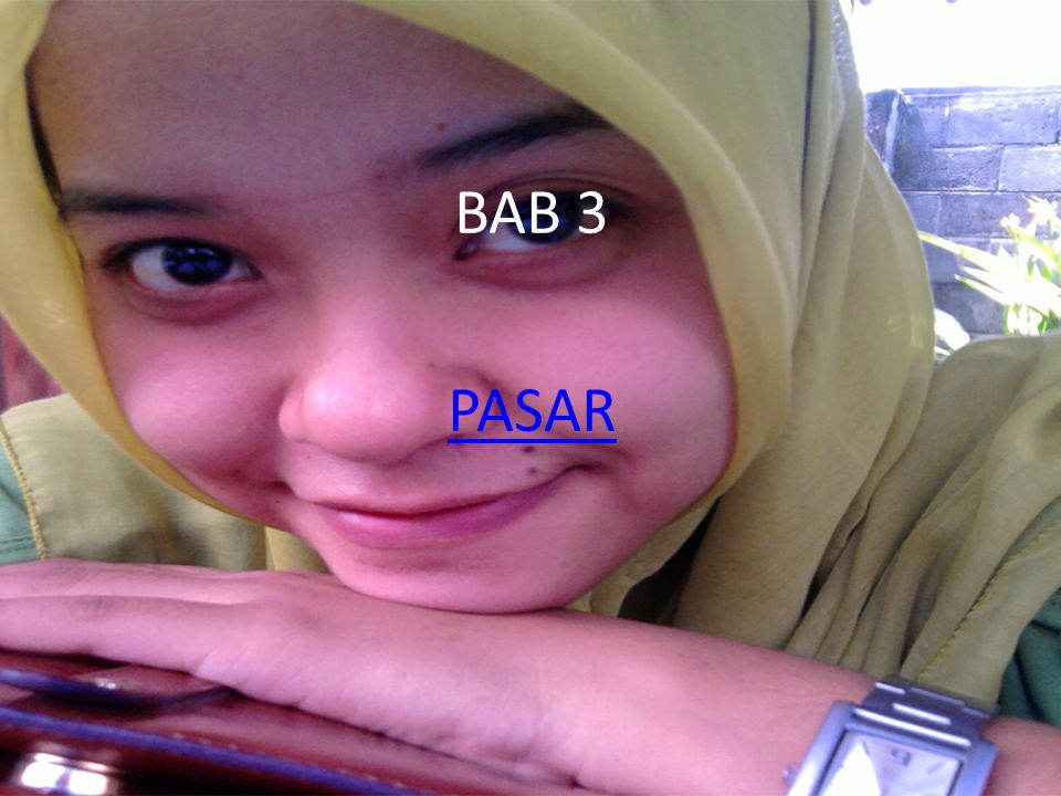 BAB 3 PASAR