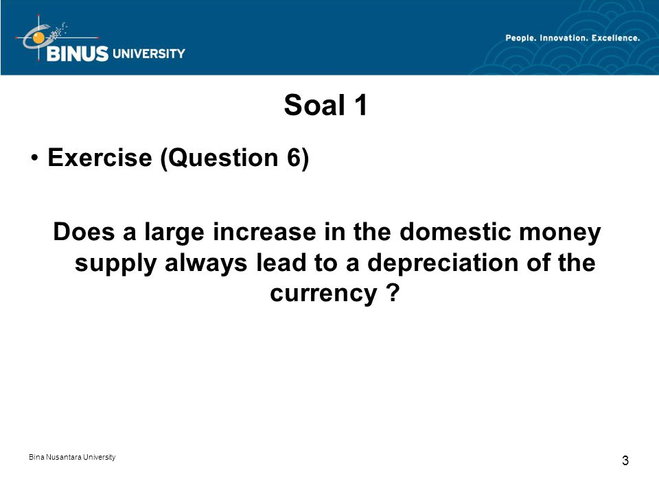 Soal 1 Exercise (Question 6)
