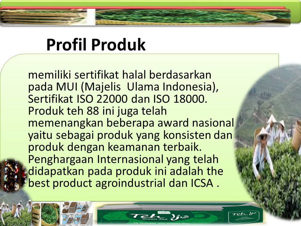 Profil Produk