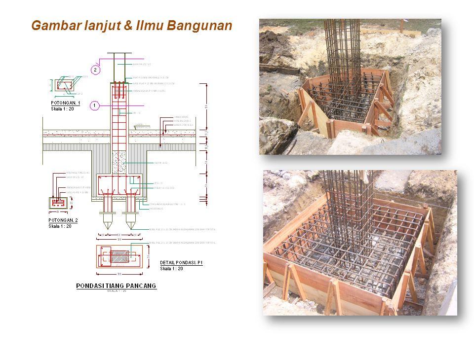 Gambar lanjut & Ilmu Bangunan