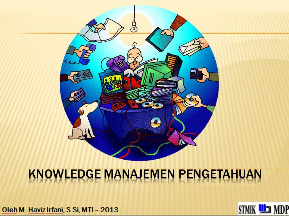 KNOWLEDGE Manajemen Pengetahuan