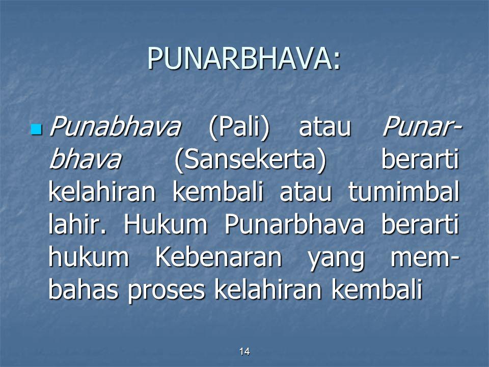 PUNARBHAVA:
