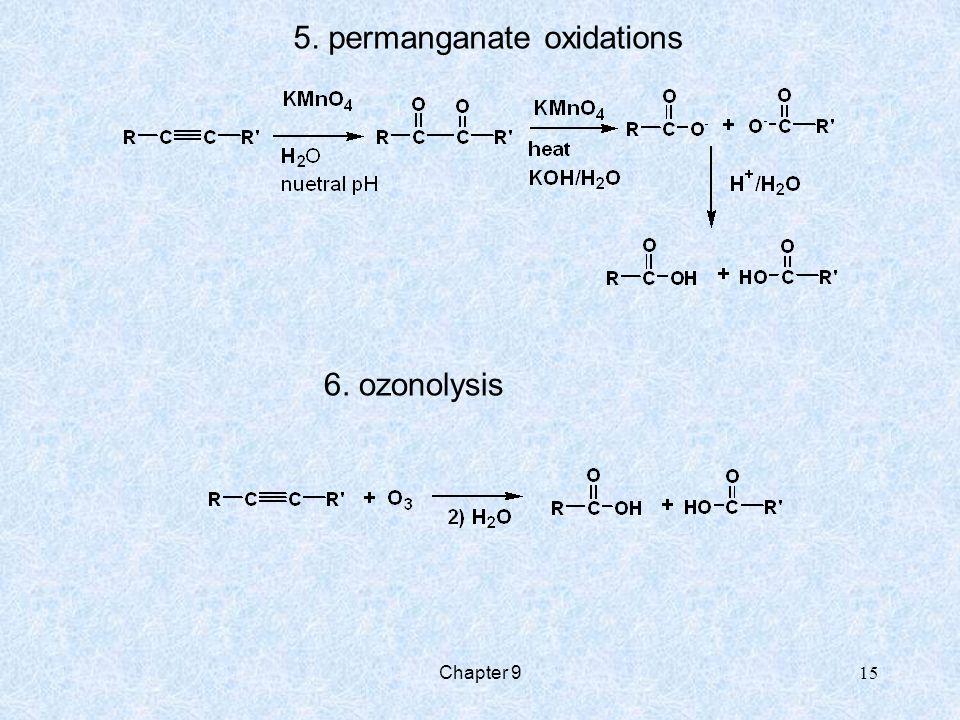 5. permanganate oxidations