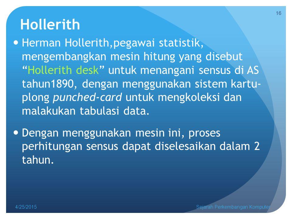 Hollerith