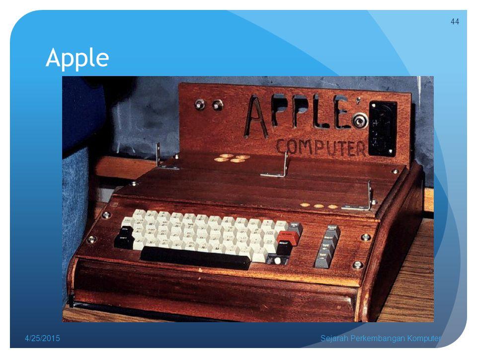 Apple 4/14/2017 Sejarah Perkembangan Komputer