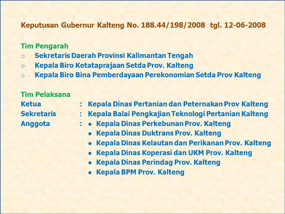 Keputusan Gubernur Kalteng No. 188.44/198/2008 tgl. 12-06-2008
