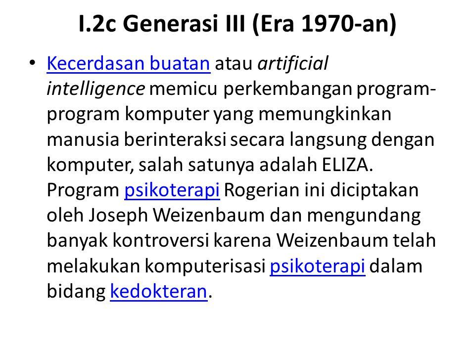 I.2c Generasi III (Era 1970-an)