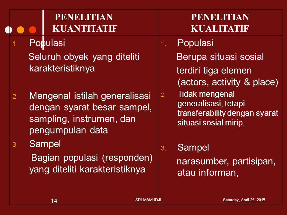 PENELITIAN KUANTITATIF KUALITATIF