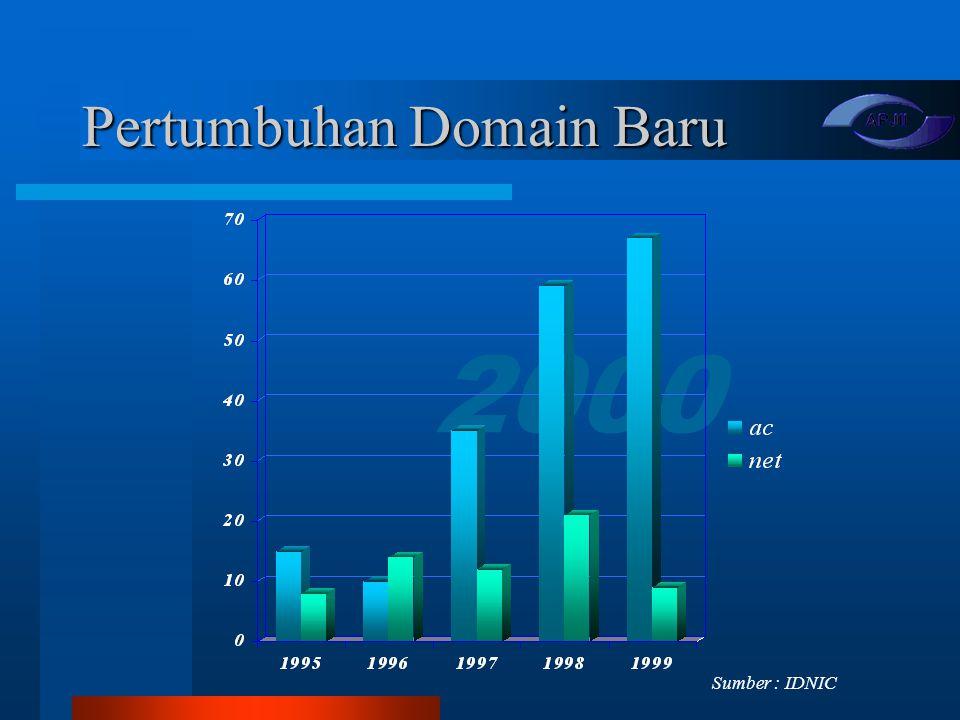 Pertumbuhan Domain Baru