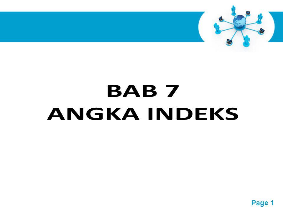 BAB 7 ANGKA INDEKS