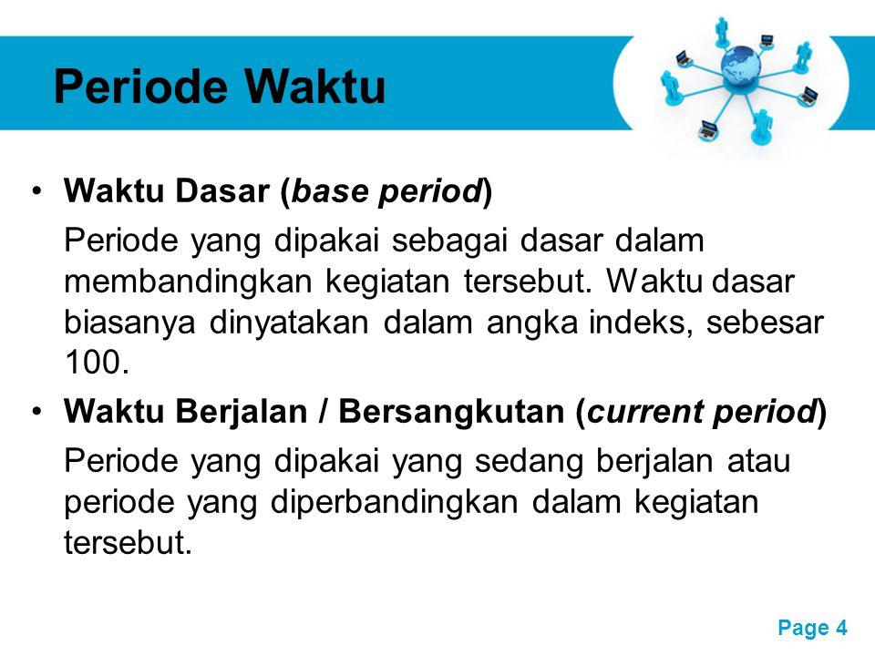 Periode Waktu Waktu Dasar (base period)