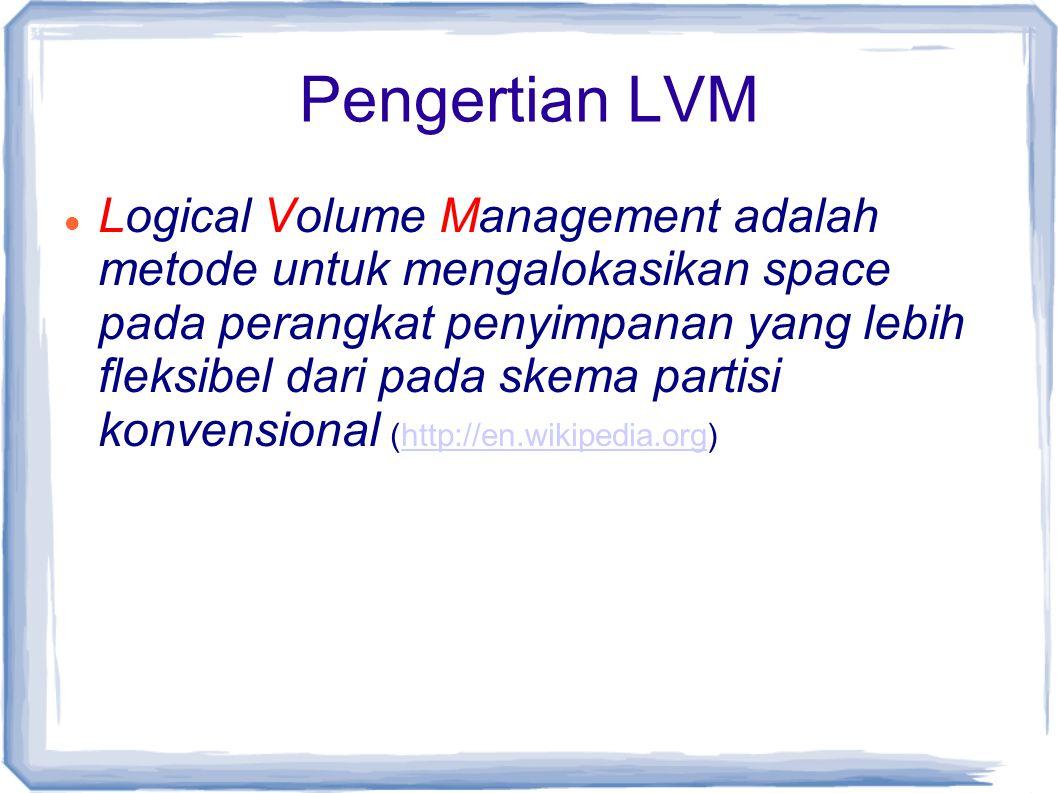 Pengertian LVM