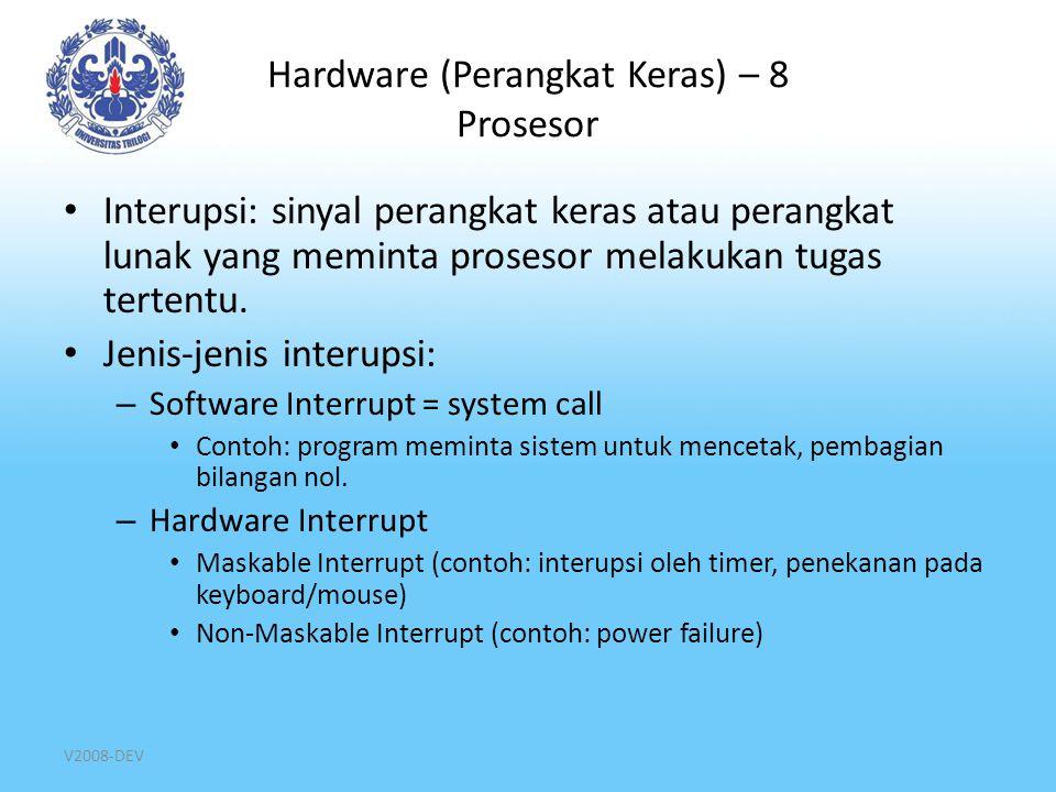 Hardware (Perangkat Keras) – 8 Prosesor