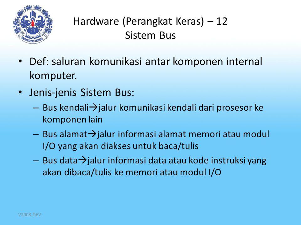 Hardware (Perangkat Keras) – 12 Sistem Bus
