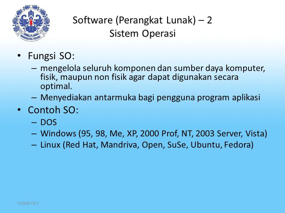 Software (Perangkat Lunak) – 2 Sistem Operasi