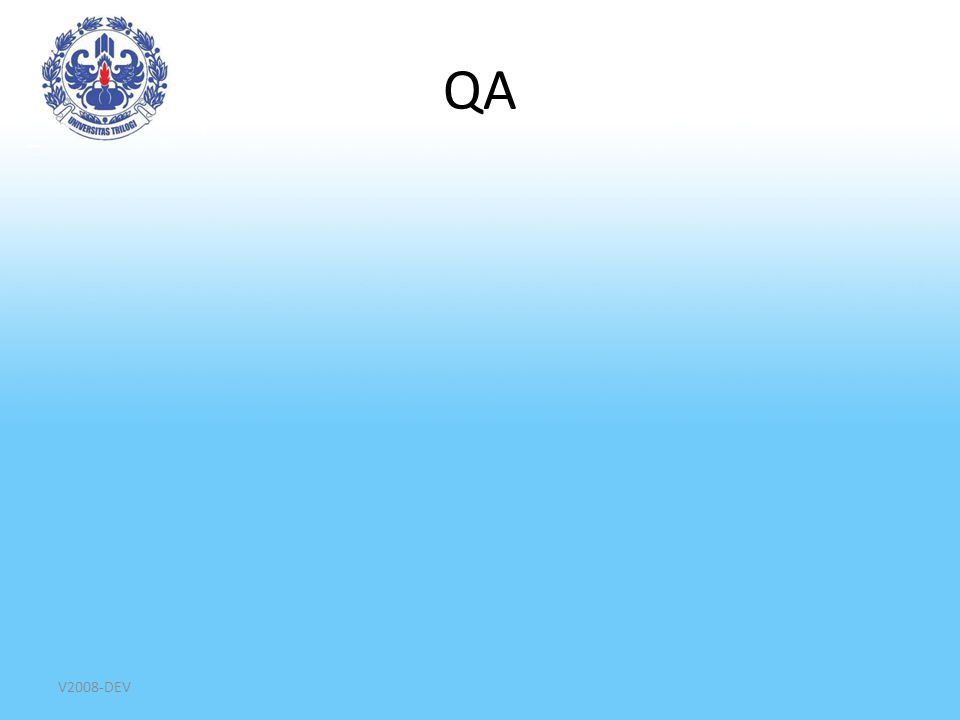 QA V2008-DEV