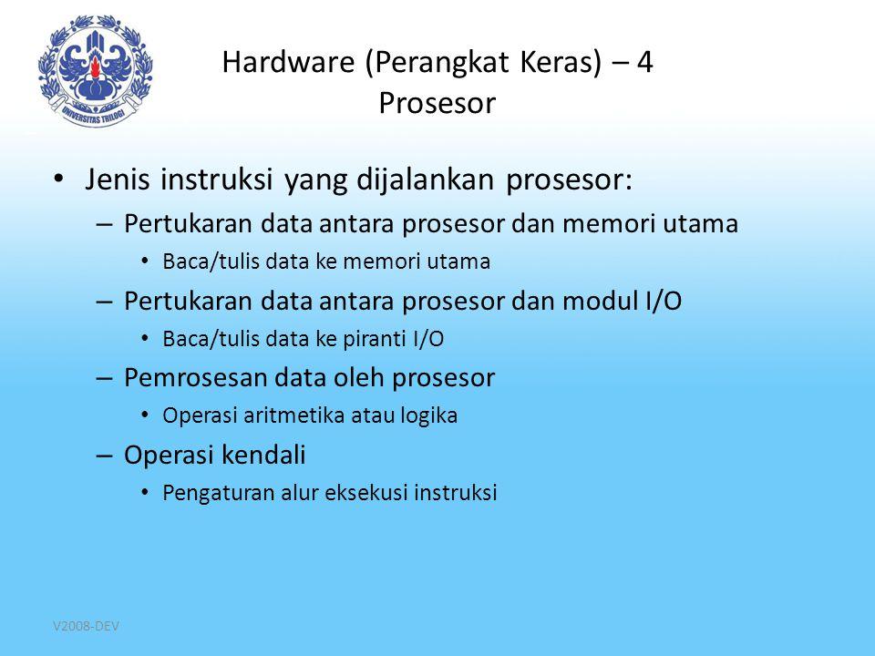 Hardware (Perangkat Keras) – 4 Prosesor