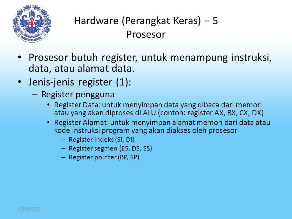 Hardware (Perangkat Keras) – 5 Prosesor