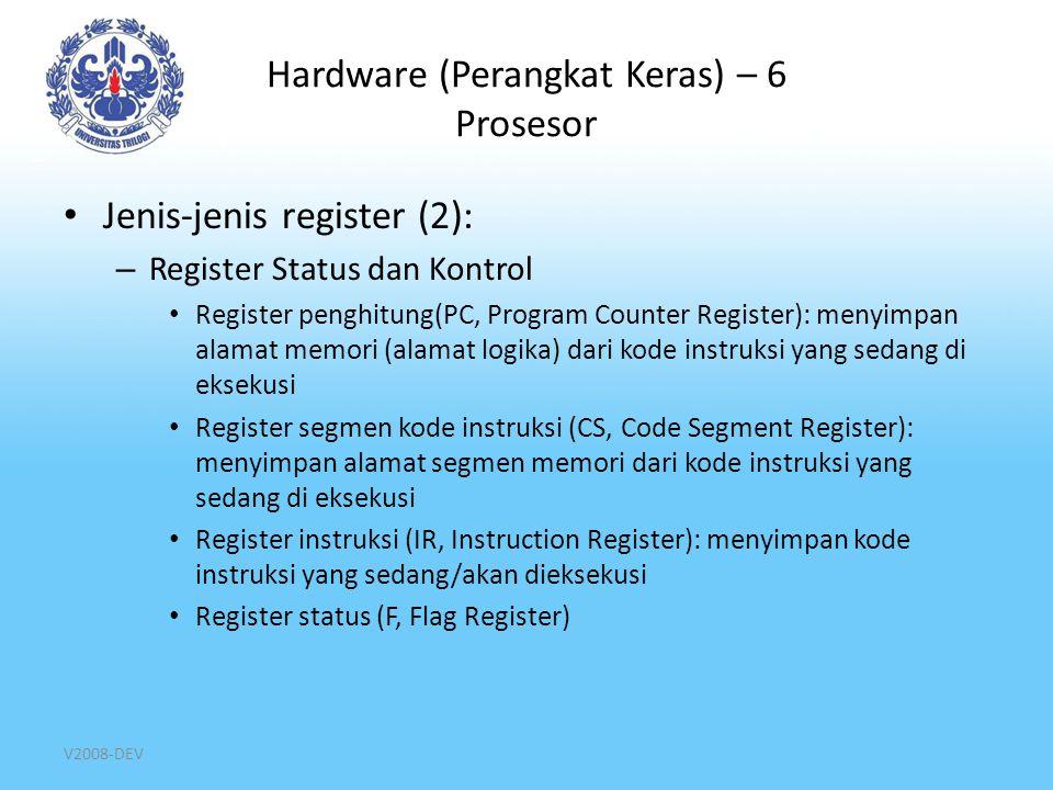 Hardware (Perangkat Keras) – 6 Prosesor