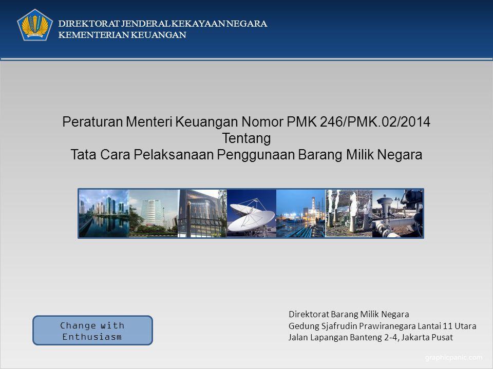 Peraturan Menteri Keuangan Nomor PMK 246/PMK.02/2014 Tentang