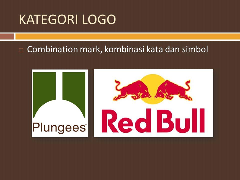 KATEGORI LOGO Combination mark, kombinasi kata dan simbol