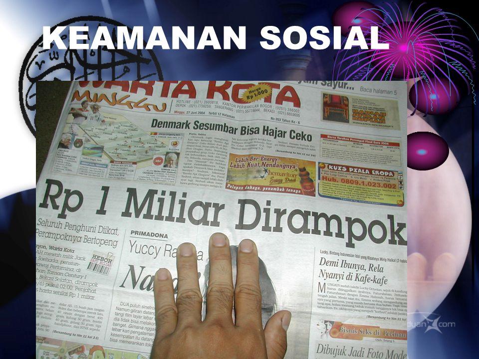 KEAMANAN SOSIAL