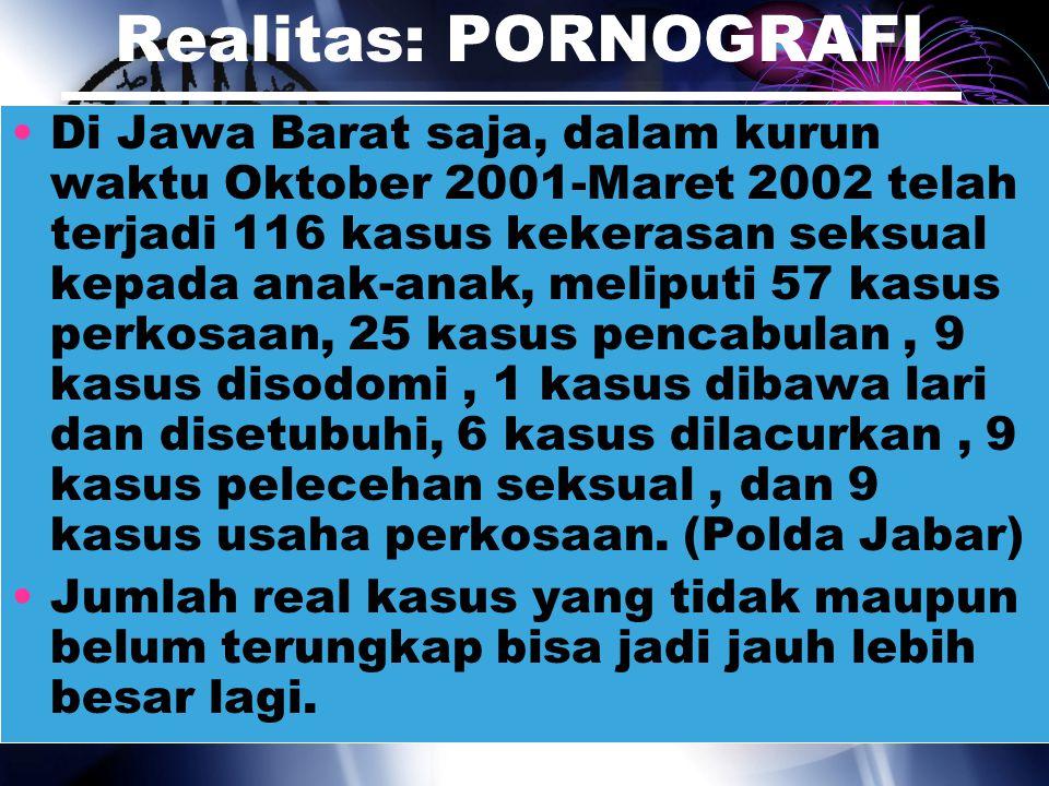 Realitas: PORNOGRAFI