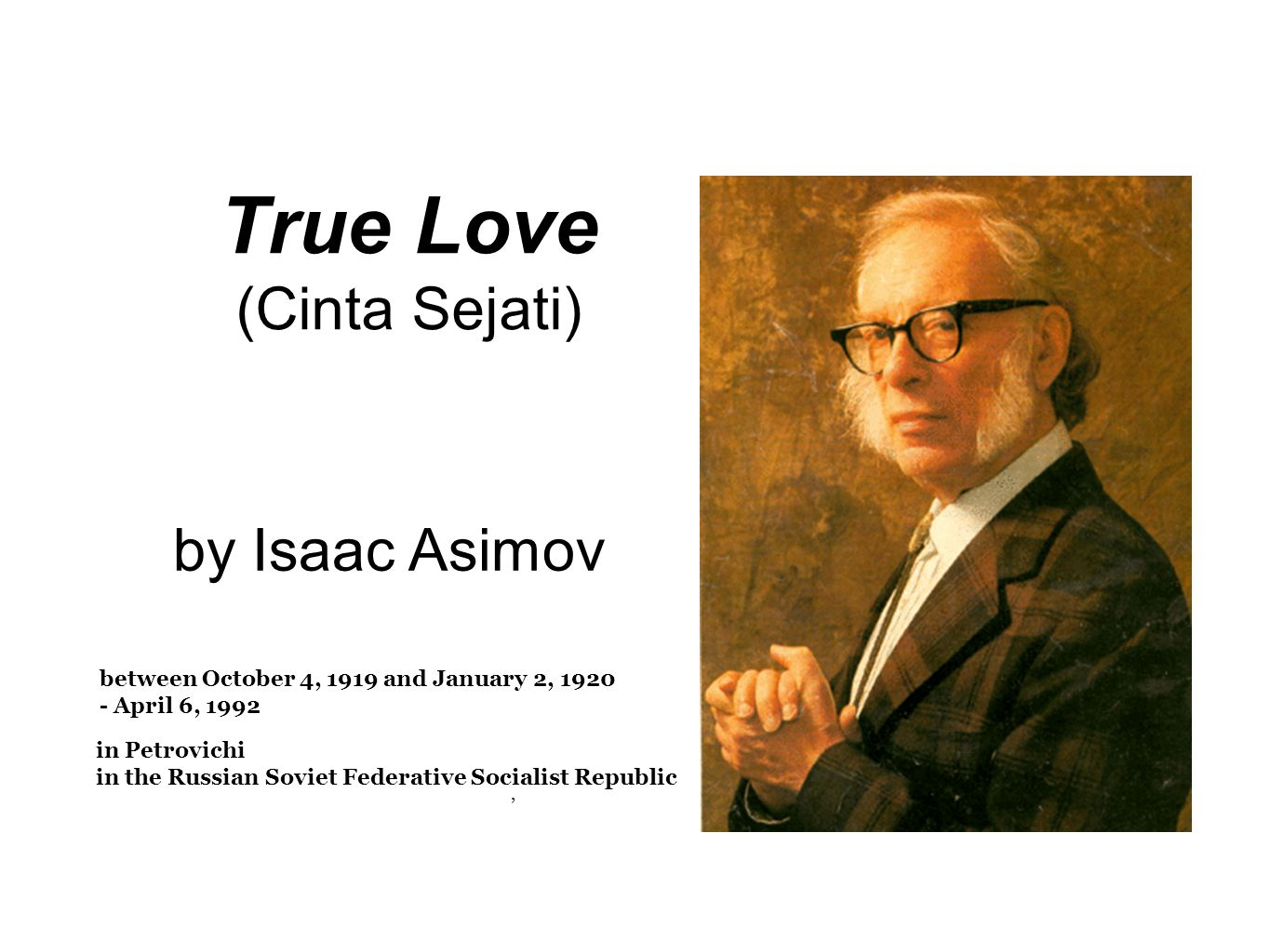 True Love (Cinta Sejati)